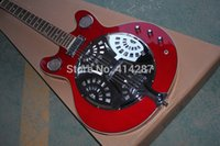 acoustic electric resonator - new model acoustic electric resonator guitar double cutaway different color