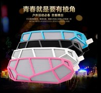 car active subwoofer - creativity design speaker superia car style wireless portable FM radio TF card honeycomb stereo bluetooth speakers