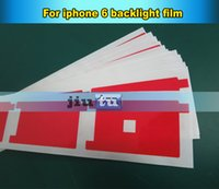 Wholesale By DHL Free Backlight red sticker film plastic replacement for iphone G backlight Adhesive sticker for broken iphone fix