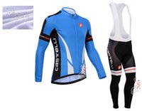 bicycle promotions - Hot Promotion Bike Wear Men Cycling Jersey Thermal Fleece Road Racing Mountain Bicycle Jerseys Sports Clothes XXS XL