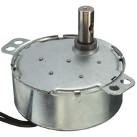 Wholesale High Quality V W Black Dual Wires RPM min Hz Synchronous Motor for Micro Oven order lt no track