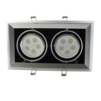 Wholesale 10W LED grille lamp Dimmable LED beans gall lamp high power high lumens led grille light SMDD