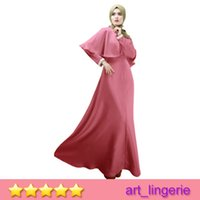 bamboo dress code - 2015 Hot Selling Muslim ladies dress code Malaysia Dress Cloak Fashion Ethnic Clothes Arab women robe Sexy Muslim Dress Item No