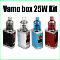 vamo kit - Kangside Vamo Box w Mod starter kit thread w fit for battery box mod VS Istick Subox mini Boxer Kit Free DHL