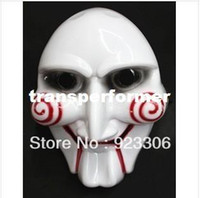 Wholesale Halloween masquerade party male saw mask carnival masks