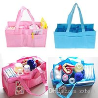 ab handbags - 10pcs Mummy Bag Bottle Storage Multifunctional Separate Bag Nappy Maternity Handbag Baby Tote Diaper Organizer AB