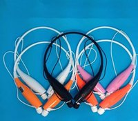 Wholesale Wireless bluetooth stereo headphone best quality HB sport headset in ear bluetooth wireless wearing style earphone DHL