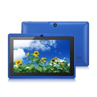 Wholesale 7 inch Q88 MB G ROM Tablet PC Android mAh Battery WiFi Quad Core GHz DDR3 A33 kids android tablet HD x600 IPS Dual Camera