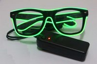 Wholesale hot Glow party glasses new fashion flash LED glasses glowing classic toys decorative party mask vgb7u