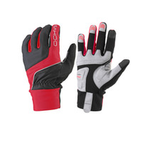 Wholesale Latest Sahoo Red Cycling Full Finger Winter Thermal MTB Bike Gloves Size M XL Windproof