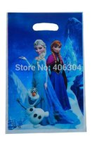 Wholesale Frozen theme movie Elsa Anna PP candy gift loot bag kid birthday party decoration kits supplies favors