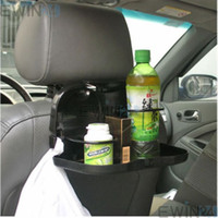 Wholesale Hot Selling Foldable Car Back Seat Table Tray Stand Food Cup Drink Bottle Rack Holder