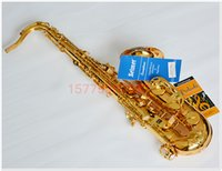 Wholesale b selmer tenor saxophone musical instrument electrophoresis gold professional grade