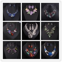 shell necklace and earring - costume jewelry sets necklace and earring