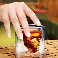 Wholesale Crystal Skull Pirate Shot Glass Drink Cocktail Beer Cup