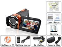 Wholesale 16Megapixel digital video camcorder with quot LCD panel HDMI cable and lithium battery