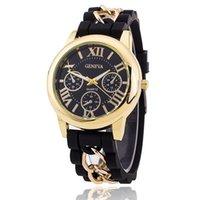 Cheap Men Women Geneva Watch Best silicon Watches
