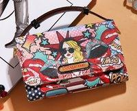 handbags usa - Student Handbags Famous Brand Nicole Lee Bags USA Flats Designer Wallet fashion Women Wallet Leather Bag USA Flats