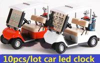 alarms mini golf - new new Modern Mini Golf car alarm lcd clock Christmas birthday Gift