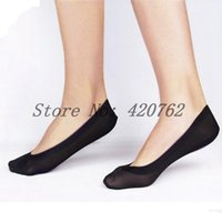 Wholesale Hot Pairs Women Socks Ankle Low Female Invisible Shallow Mouth Summer Thin Sock Solid Color Free Ship