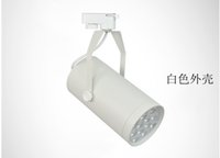 Wholesale 20 LED track lighting ceiling surface mounted light rail clothing store window exhibition halls showcase backdrop spotlights w