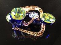 handmade craft - Beautiful new design hand work craft glass smoking pipe handmade pipes animal pipe quot