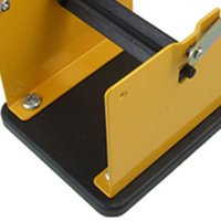 Wholesale FS Hot Yellow Black Metal Solder Wire Stand Holder Support order lt no track