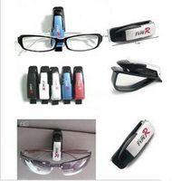 Cheap Free Shipping Hot Sale ABS Car Vehicle Sun Visor Sunglasses Eyeglasses Glasses Holder Clip 5 Color