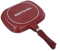 Wholesale Hot Sale Happycall Happy Call cm Fry Pan Non stick Fryer Pan Double Side Grill Fry Pan