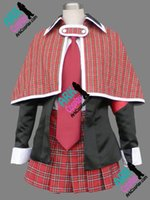amu hinamori cosplay - Shugo Chara Hinamori Amu Cosplay Red Janpanese School Girl Uniform Shugo Chara Cosplay Costume