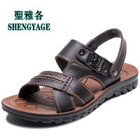 big mens sandals - brand XXXXXL big Plus size mens slipper sandals Large leather sandals sandals summer shoes tops brand