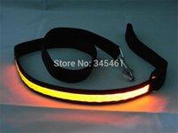 batteries traction - LED Luminous Traction Belt Colors Modes Width cm Led Pet Leashes Battery Pre installed Blinking Led light Dog Belts order lt no tra