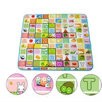 Wholesale High Quality Child Play Mats Aluminum Eco friendly Baby Play Crawling Camping Tent Pad Mat D0132