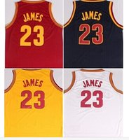 lebron james jersey - Lebron James jersey New Rev Basketball jerseys number name is stitched