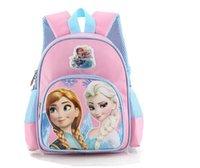Wholesale New design Frozen CM School bag Princess Children Backpack Rucksack Kids Book bags