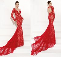 Cheap sexy prom dress gown 2015 Best evening dress lace sleeve