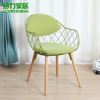 best dining furniture - Best popular designer furniture fashionable recreational chair creative design dining chair rustic chair pina chair color