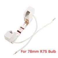 Wholesale High Quality mm R7S Light Bulb Lamp Base Holder Adapter Socket Metal Handle order lt no track