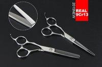 Wholesale quot Left handProfessional Hair Scissors Set For Hairdressing Salons set