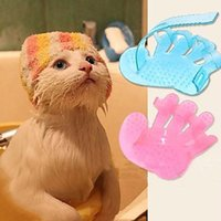 Wholesale New Pet Dog Cat Products Rubber Glove Grooming Cleaning Brush Comb for Dog Cat Retail