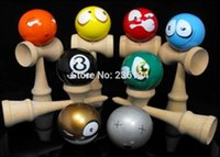 ball facebook - Professional cm Funny Japanese facebook Traditional Wood Game Toy Kendama Ball