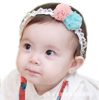 baby love hair products - baby headbands latest kids best loved lace flowers hair accessories very delicate new products Big Promotion