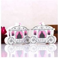 Cheap Favor Boxes fairy tale wedding box Best Pink Paper candies packing