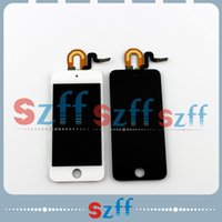 Wholesale For iPod Touch LCD Display Digitizer Touch Screen Glass Assembly for iPod Touch Black White AA0134
