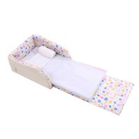 Wholesale Hot Sale Baby Bed Multifunctional Comfortable Detachable Washable Foldable Newborn Baby Cribs Child Travel Sleep Bed JN0024 Salebags