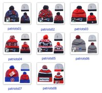 Wholesale Winter Wool Hats Patriots Beanies