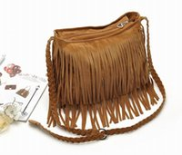 ladies handbags - New Fashion Women Punk Tassel Fringe Shoulder Bag Lady Leather Handbag Shoulder Bag GNQ
