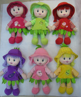 Wholesale MOQ10PCS JX2602 Lucky Yiwu factory direct selling cm dolls double smilng plush toy china toys american girl doll Girls dolls