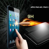 Wholesale NEW mm Tempered Glass Explosion Proof Shatter proof Screen Protector Film For Apple ipad Air ipad ipad mini