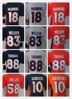 america s game - Denver Manning Jerseys Womens Game Peyton Manning Jerseys Demaryius Thomas Authentic America Football Jerseys lady shirts